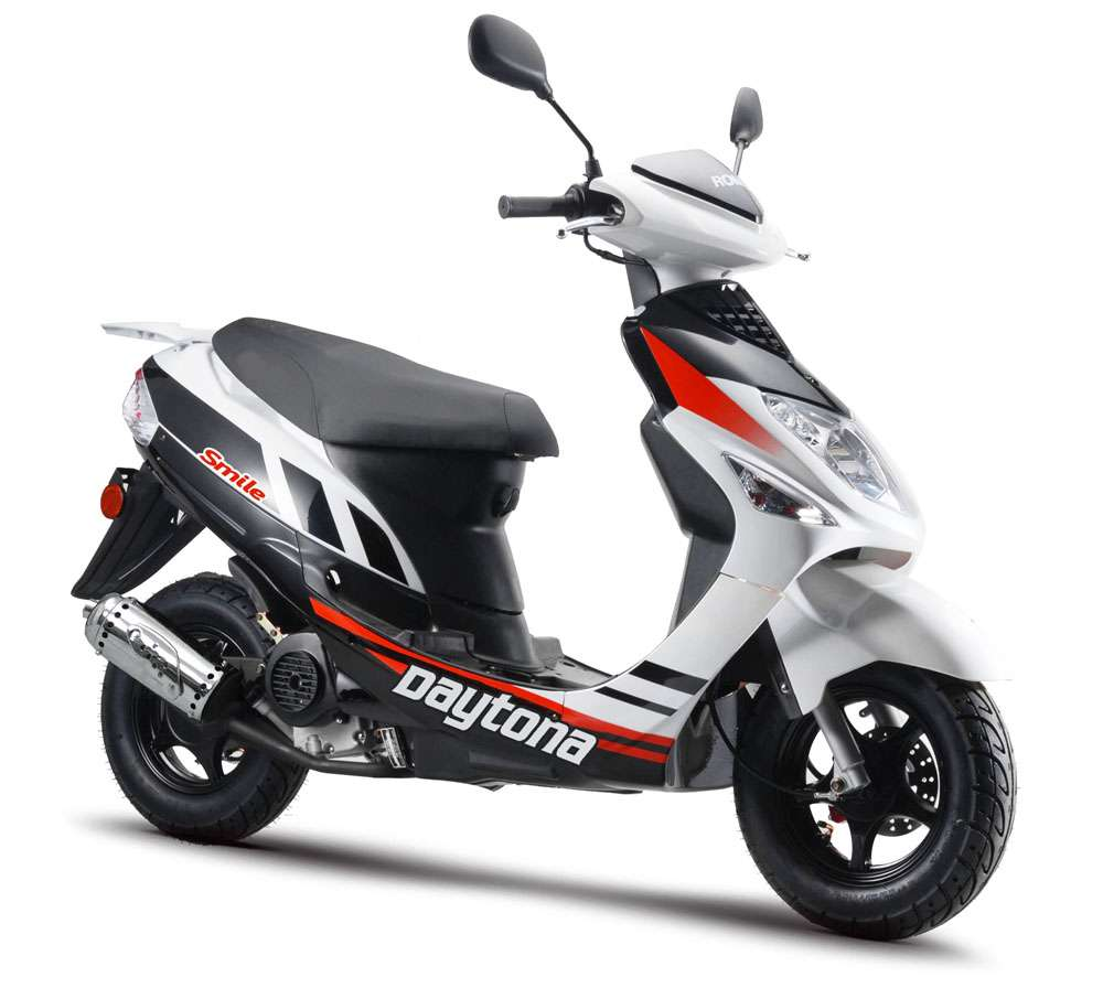 moto scooter daytona smile 50 euro 4 black